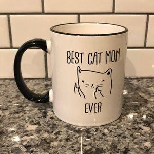 Best Cat Mom Ever Cute Cat Coffee Mug